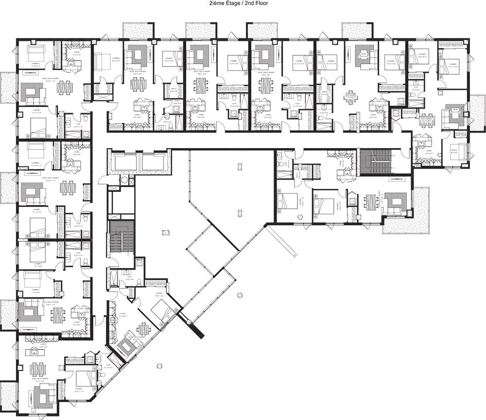 2e étage / 2nd Floor
