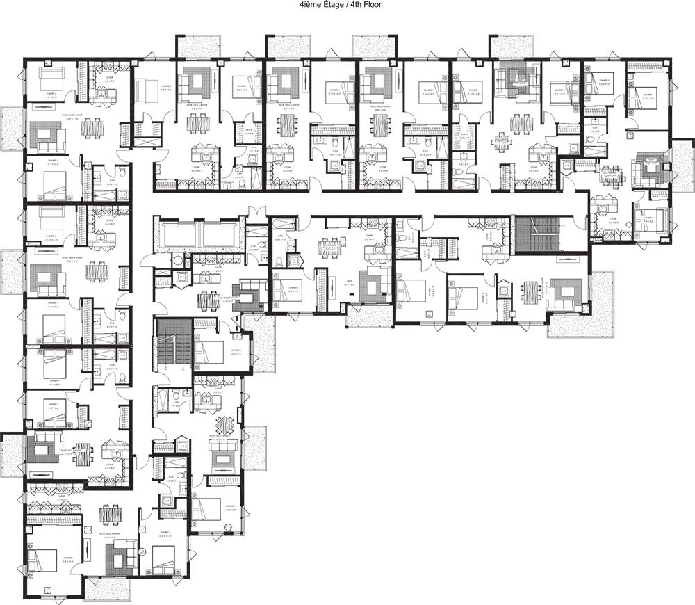 4e étage / 4th floor