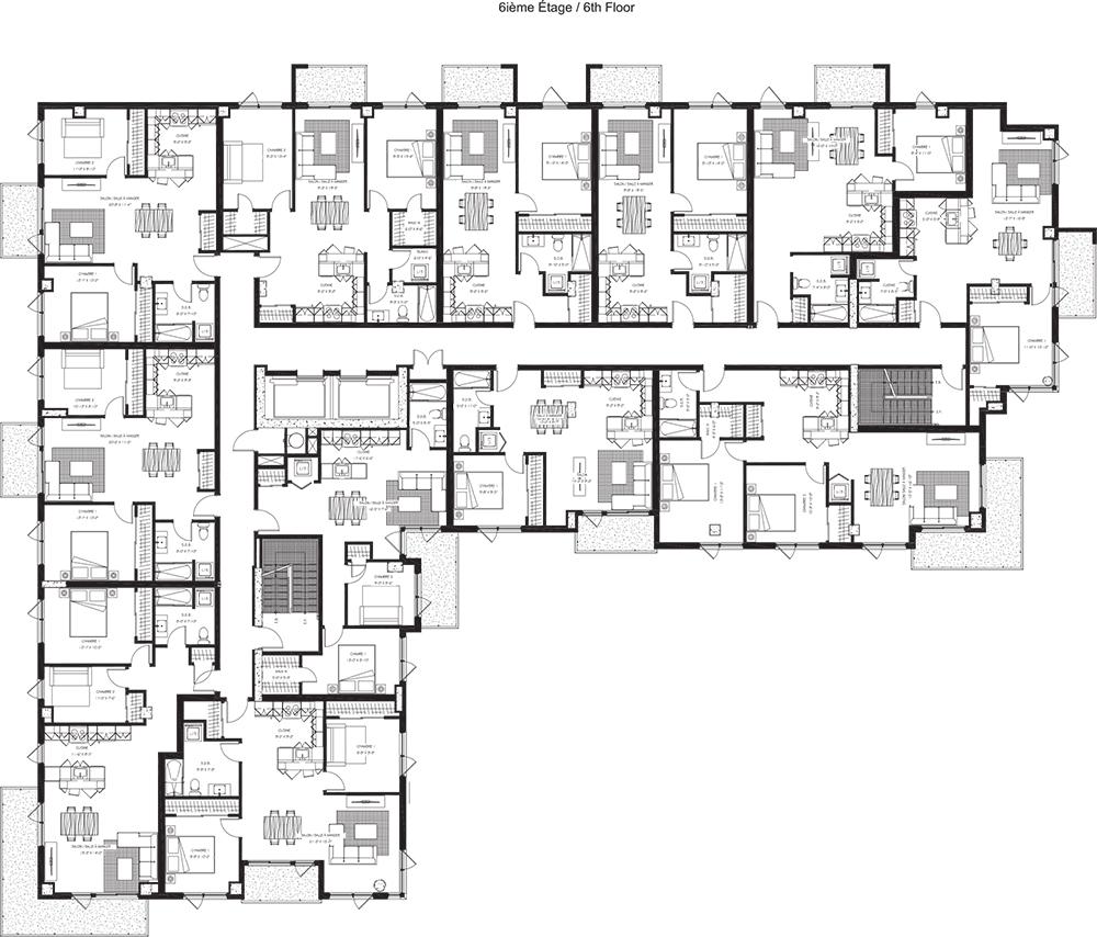 6e étage / 6th Floor